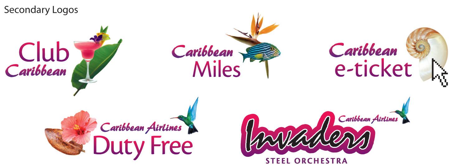 Major Airline Blue Crown Logos